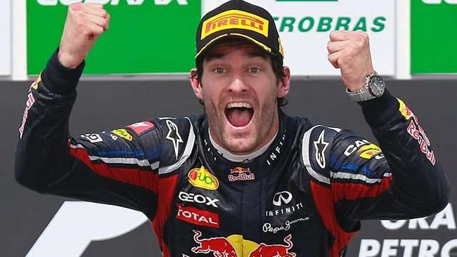 Webber wins Brazilian GP