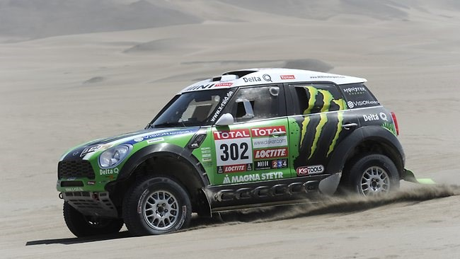 Peterhansel, Despres win Dakar Rally