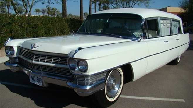 JFK hearse sold at auction