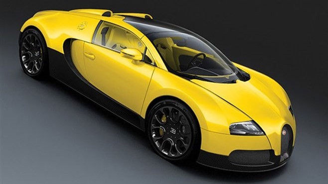 Bugatti Veyron 16.4 Grand Sport yellow edition