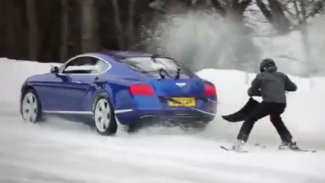Bentley Continental GT becomes 420kW sled dog