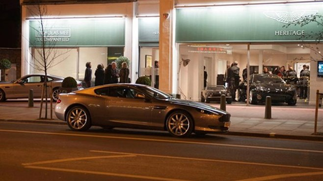 Aston Martin opens new heritage showroom