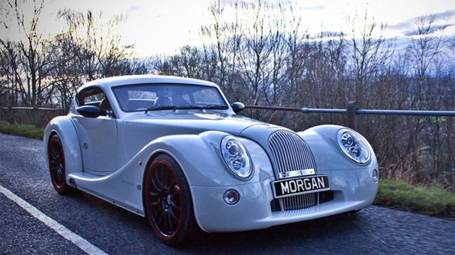 Morgan unveil Aero Coupe