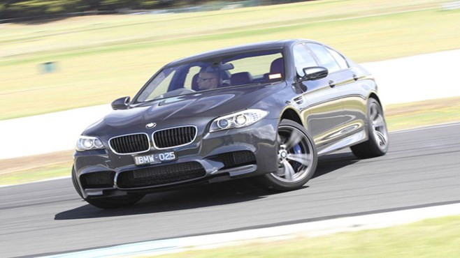 BMW M5 – track review