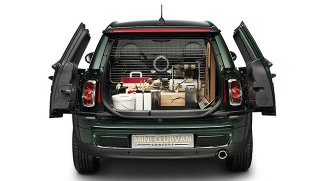 MINI Clubvan concept for Geneva 2012