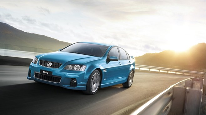 Holden unveil LPG Commodore range