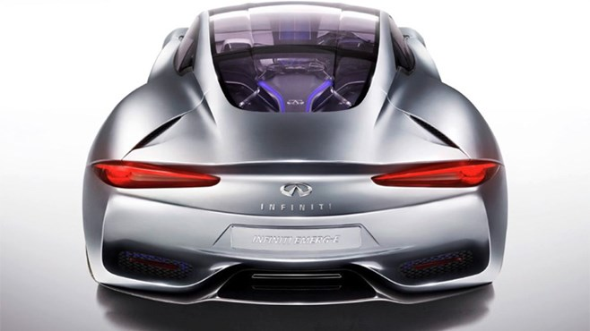 Infiniti Emerg-E concept teased ahead of Geneva