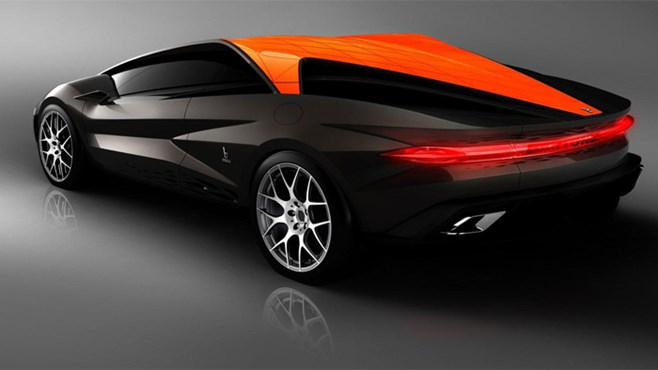 Official images of Bertone Nuccio concept