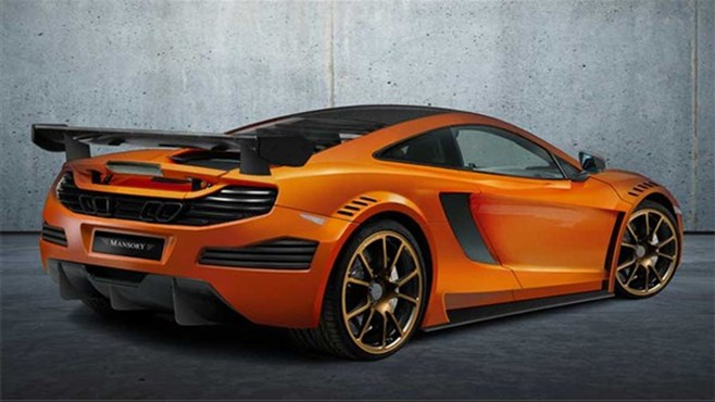 Mansory tuned 493kW McLaren MP4-12C for Geneva 2012