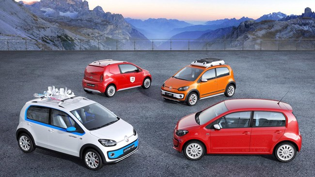 Four new VW Up! concepts coming to Geneva