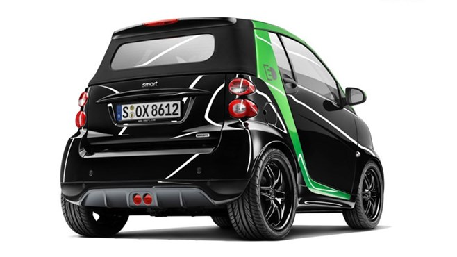 Brabus tune electric smart car for Geneva Motor Show