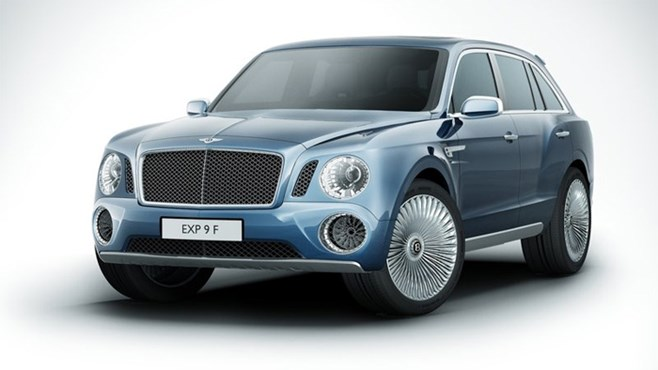 Bentley unveils EXP 9 F luxury SUV