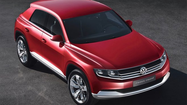 VW Cross Coupe TDI Concept achieves 1.8 l/100km