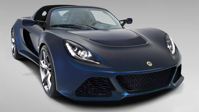 New Lotus Exige S Roadster