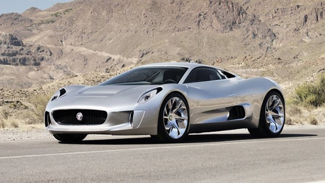 Jaguar CX-75 for the track only, no road car