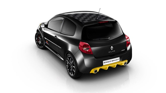 Renault release Red Bull F1 Clio special edition