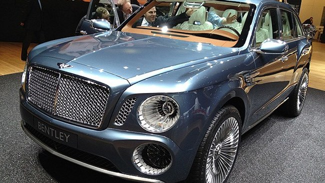 More Bentley SUVs on the way?
