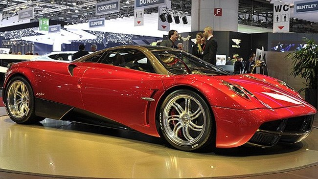 $1.5m Pagani Huayra finally on sale