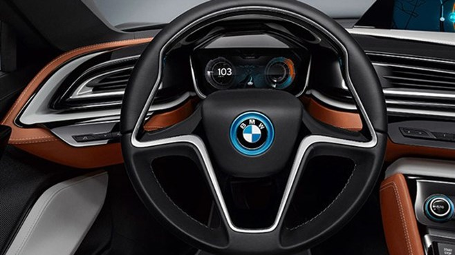 BMW i8 Concept Spyder revealed
