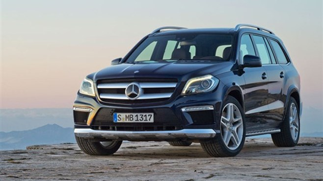 New Mercedes GL debuts at 2012 New York International Auto Show