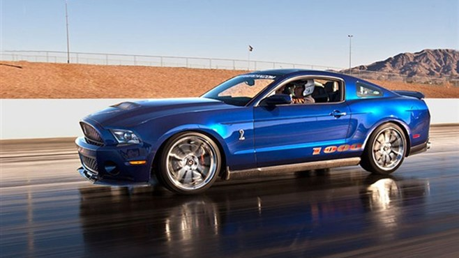 810kW Ford Shelby Mustang at New York Motor Show