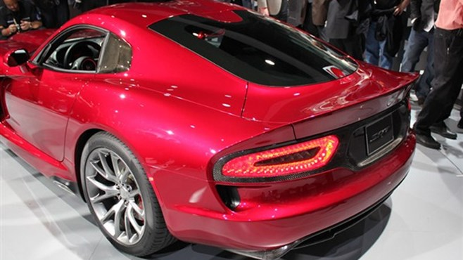 New 2012-2013 SRT Viper at New York Motor Show