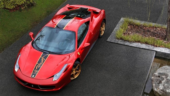 Ferrari reveals special 458 Italia for China
