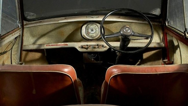 Oldest unrestored Mini to make $25,000 at auction