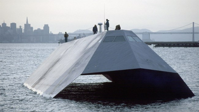$200 million James Bond-style US Navy stealth ship