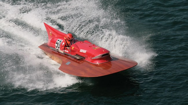 Rare Ferrari boat to be auctioned