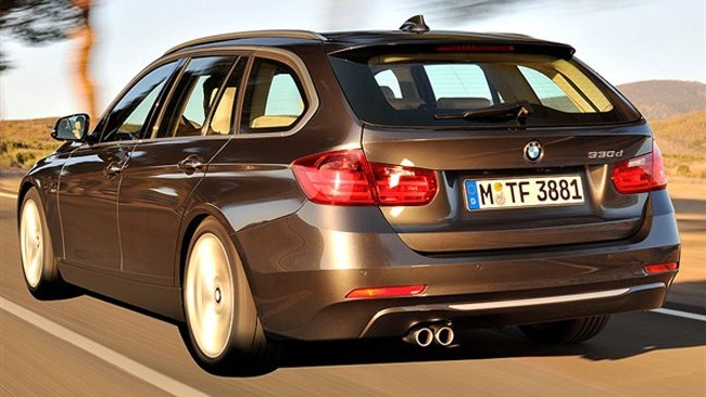 BMW 3 Series Touring revealed