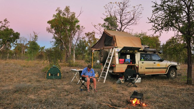 4X4 TRAVEL: KEEP RIVER, NT