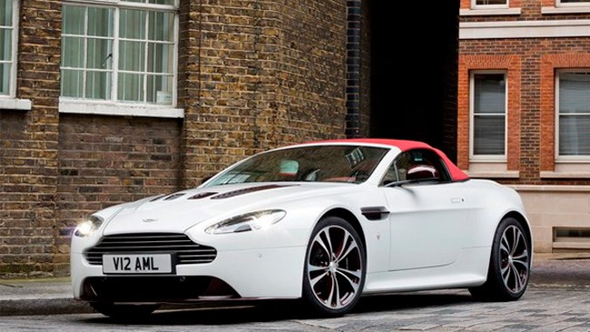 Aston Martin V12 Vantage Roadster launched