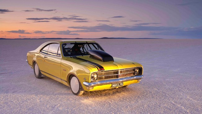 Aussie muscle hits Bonneville