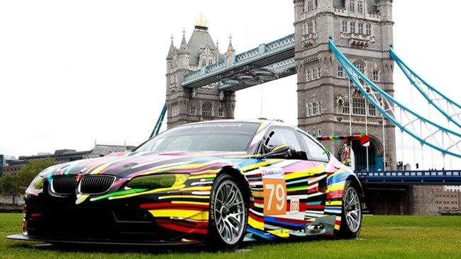 BMW QUALIFIES FOR ART GAMES IN LONDON
