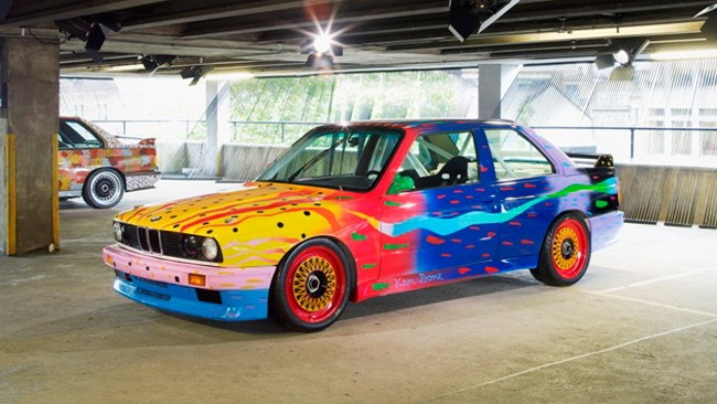 Australian Ken Done's work in the BMW Art Car Collection.