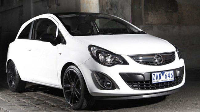 The Opel Corsa is a 1.4-litre petrol hatch.
