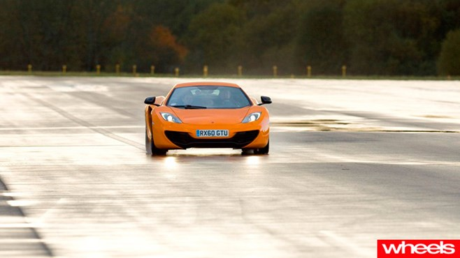 Wheels Review: McLaren MP4-12C