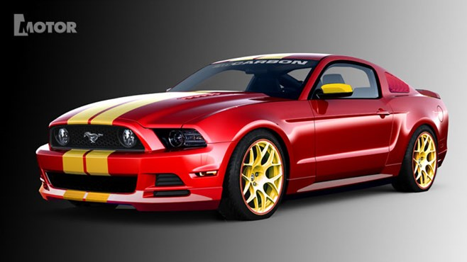 Ford Mustang '3d CARBON'