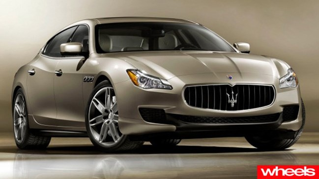 Maserati readies new Quattroporte for January debut