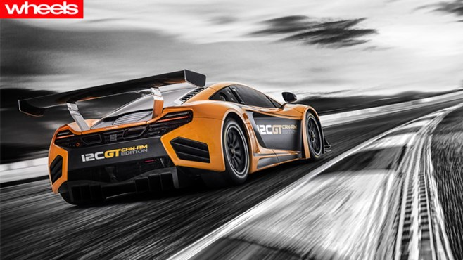 McLaren, MP4 12C Can-Am, 12C Can-Am Race Concept