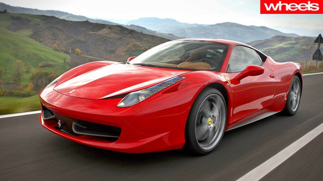 Ferrari 458 is in Porsche's sights