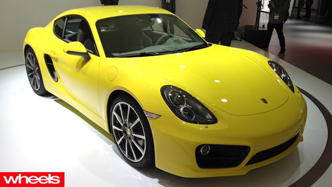 Porsche revealed the all-new Cayman this year