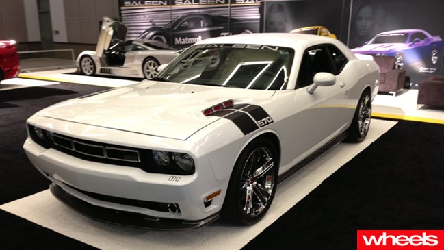 Saleen sends the Dodge Challenger into space