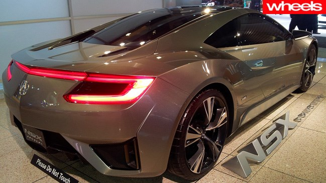 Honda's NSX looks even better from this angle