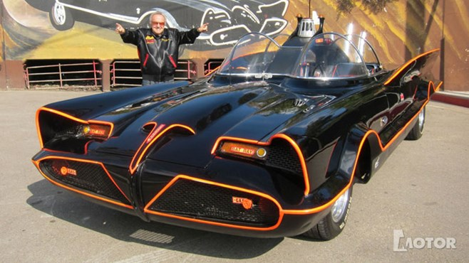 George Barris and the original Batmobile