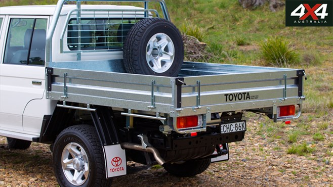 4x4, australia, toyota, Landcruiser, new 79 Series double-cab, tested, driven