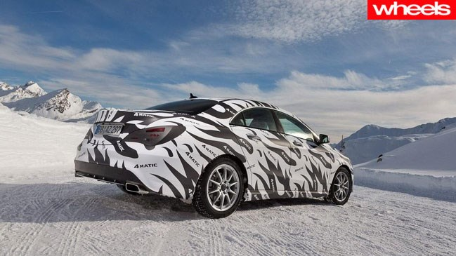 Mercedes Benz issues CLA spy shots