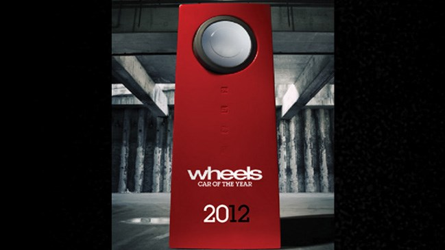 Wheels Car of the Year 2012, magazine, winner