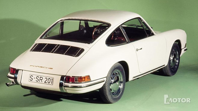 The instantly recognisable 911 shape